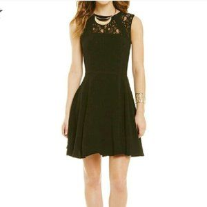 GB Little Black Dress with Lace Detail | Nordstrom